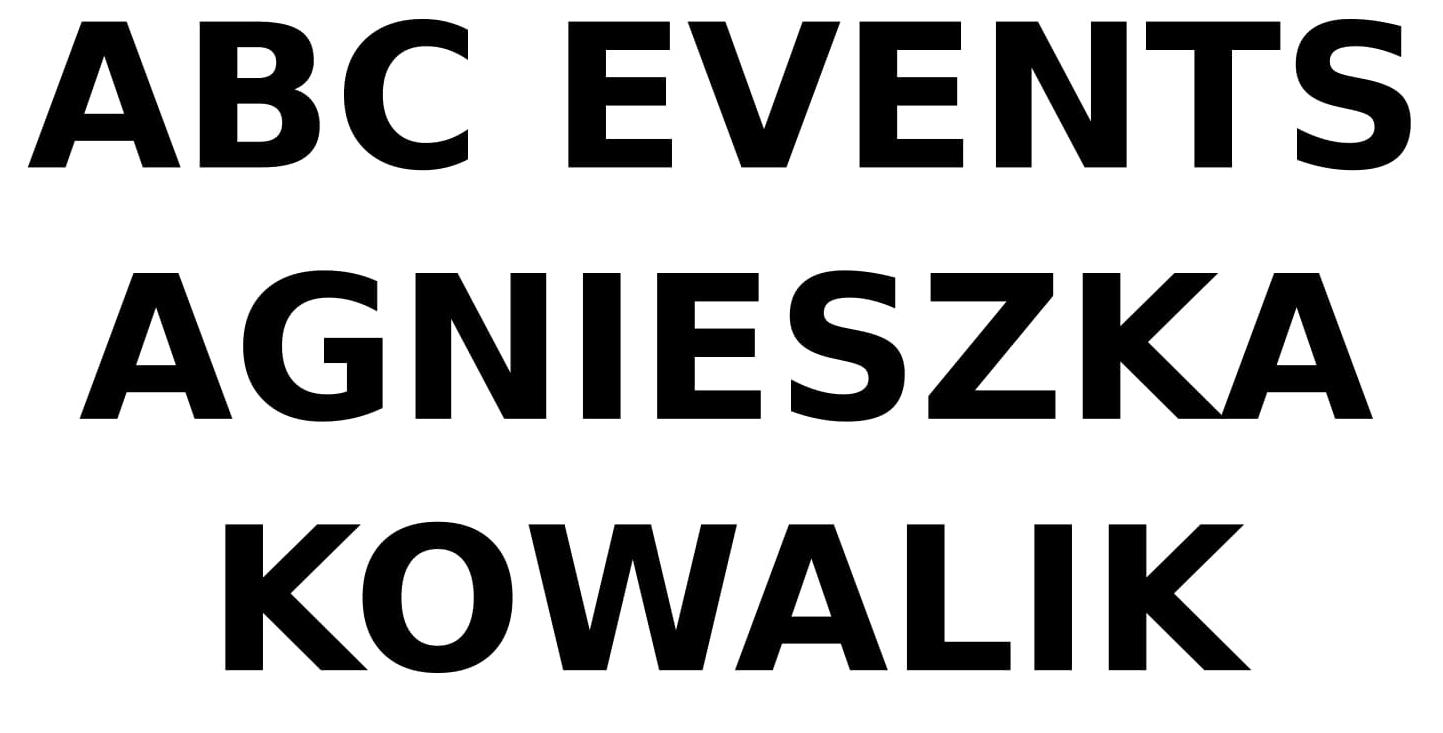 ABC EVENTS AGNIESZKA KOWALIK